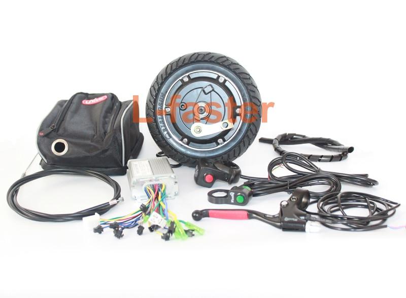 8 inch electric scooter brushless hub motor 36v 350w motor for Scooter hub motor kit
