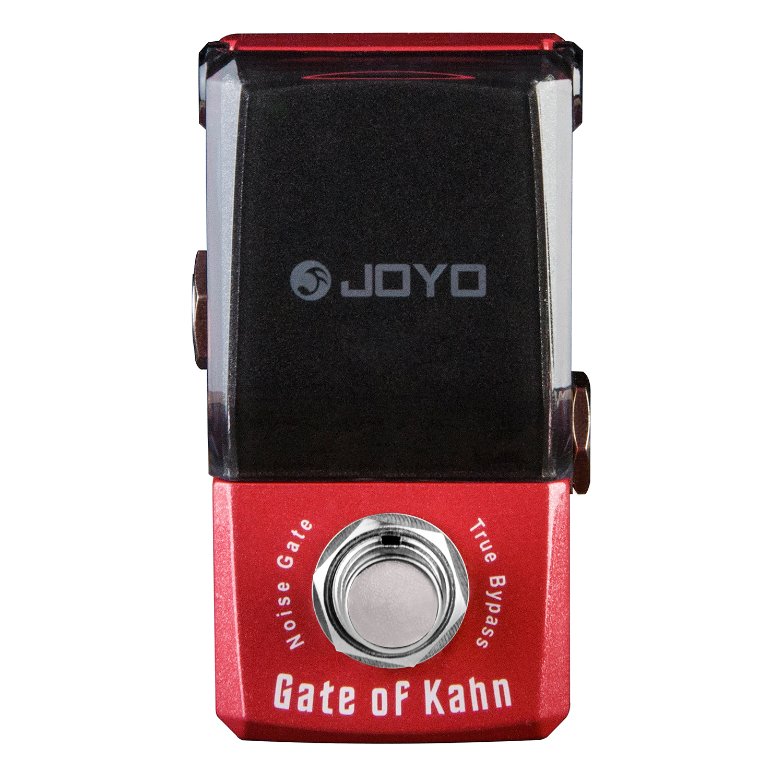 Joyo Ironman JF-324 Gate of Kahn Noise Gate Guitar Effect Pedal True Bypass jf 324 gate of kahn effects guitar pedal jf324 effect pedal joyo gate of kahn pedals joyo