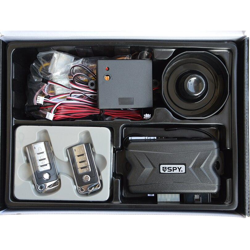 Système de sécurité automatique universel d'alarme de voiture de démarrage de moteur à distance avec le capteur à micro-ondes - 5