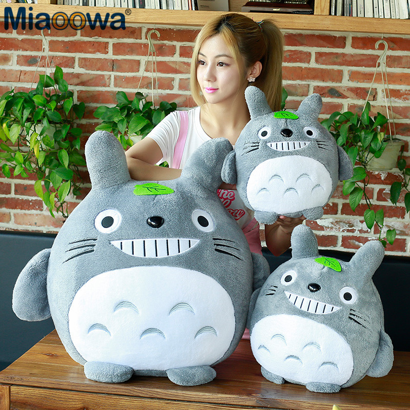 1pc 20cm Totoro Plush Toy Kawaii Stuffed Animal Toy Anime Totoro Kids Doll Children Soft Cartoon Toy Gift|Stuffed & Plush Animals|   - AliExpress