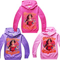 Princess Elena of Avalor baby girls clothes Children Sweater cartoon Royal Crown kids girls Clothes Latina princesa Elena