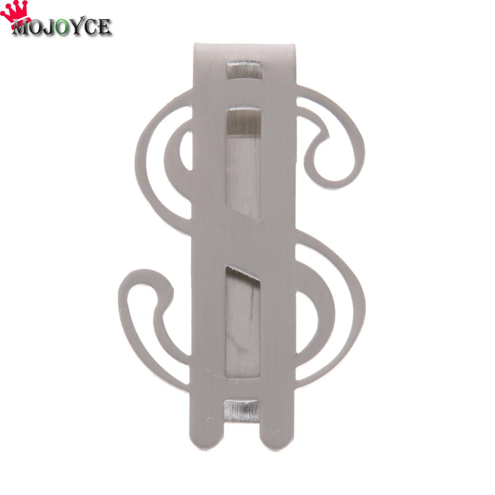 New Arrival Metal Money Clips Stainless Steel Money Cash Clip Clamp Holder For Pocket