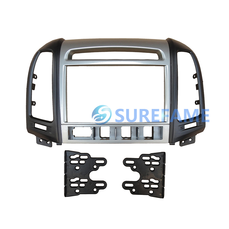 Free Shipping Double Din Car Fascia For Hyundai Santafe Radio Dvd Rhaliexpress: Hyundai Santa Fe Radio Bezel At Gmaili.net