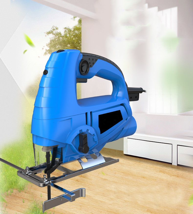 Electric Curve Saw Household Small Multifunctional Cutting Machine Woodworking Electric Saw Pull Flower Electric Torch Wood Plat