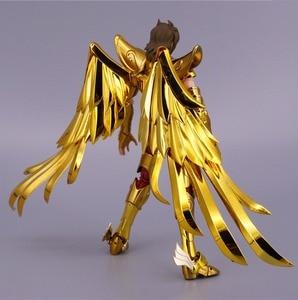Image 3 - ST S Tempel (MC Metalen Club) Saint Seiya Doek Mythe EX Gold Boogschutter Aiolos model metalen doek