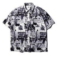 2019SS Newspaper Men TShirt Women Liverpool Streetwear T shirt Harajuku Xxxtentacion Hip Hop Top Tee Streetwear Lil Wayne Tshirt