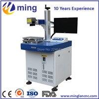 Optical fiber laser marking machine Laser engraver for metal/plastic/tag/key