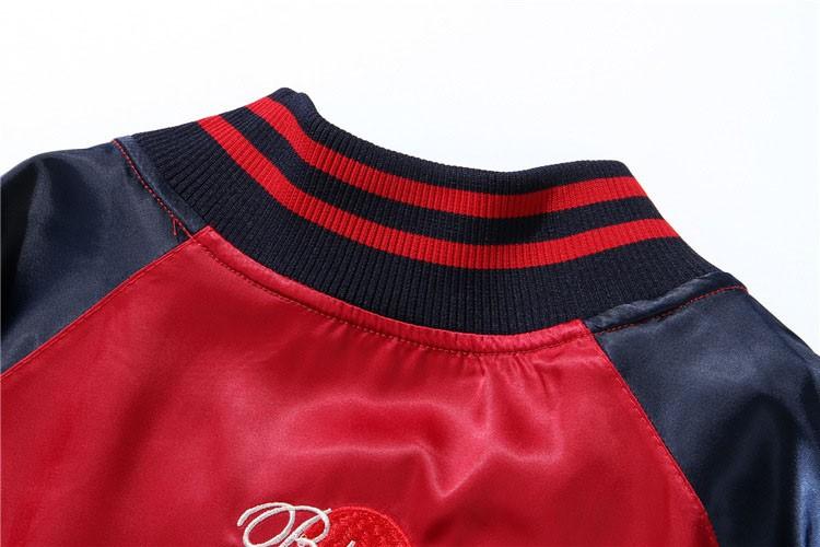Aolamegs Japan Yokosuka Embroidery Jacket Men Women Fashion Vintage Baseball Uniform Both Sides Wear Kanye West Bomber Jackets (19)