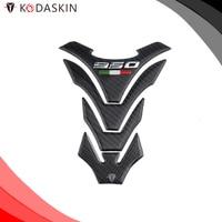 KODASKIN Protection Tank Pad Carbon Protector 3D Sticker Decal 950 Emblem For DUCATI Multistrada 950