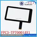 Оригинальный новый 7 ''дюймовый экран протектор Freelander PD10 3 Г сенсорная панель дигитайзер FPC3-TP70001AV2 FPC3-TP70001AV1 Бесплатная доставка