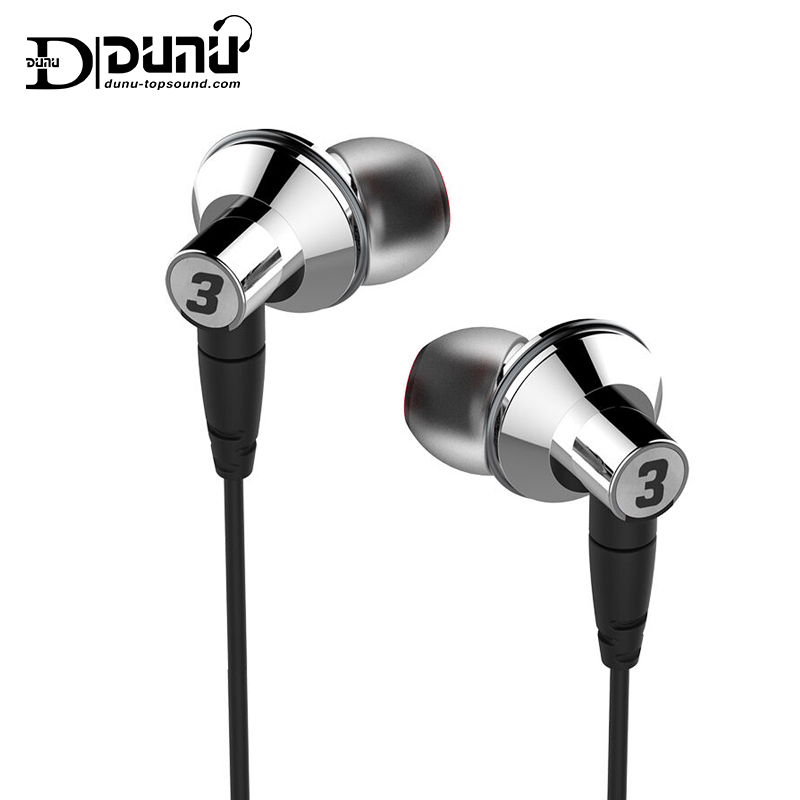 DUNU TITAN 3 HiFi Inner-ear Earphone Titanium Diaphragm Dynamic High Fidelity Earphones with MMCX connector TITAN3 TITAN-3 1