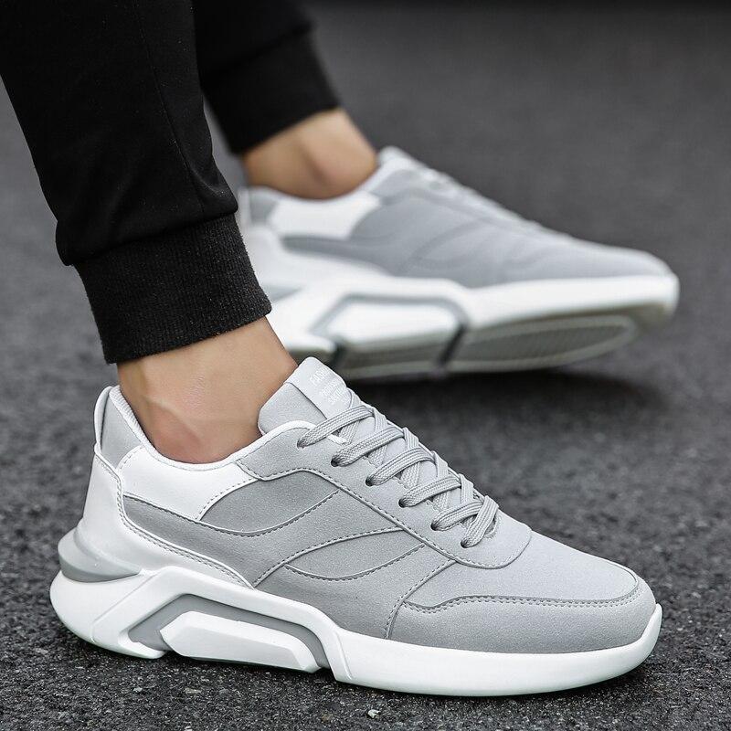 2018 High-end! Men Casual shoes Tide fashion Comfortable breathable Light Size 36-45 Men's Shoes