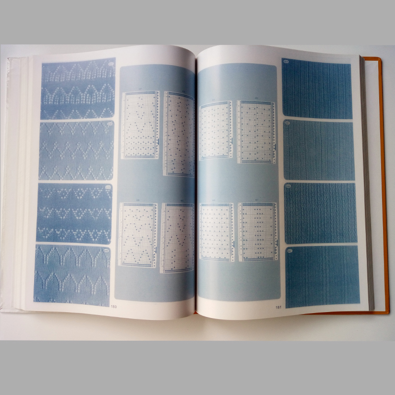 Brother Knitting Machine Diy Sweater Volume Punchcard Pattern Book