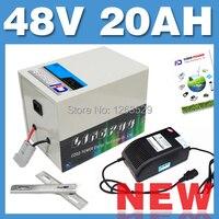 48V 20AH LiFePO4 batería trasera rack BOX batería de litio Scooter Eléctrico paquete E bicicleta envío gratis 20164820 002|48v 20ah|48v 20ah lifepo4|battery rear rack -