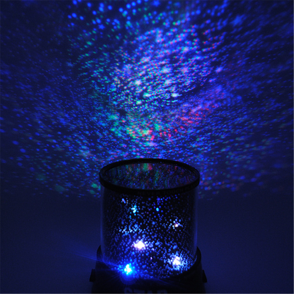 Star projector lamp night - Beautiful Design Colorful Cosmos Star Sky Master Projector Starry Led Night Light Lamp For Bedroom Romatic