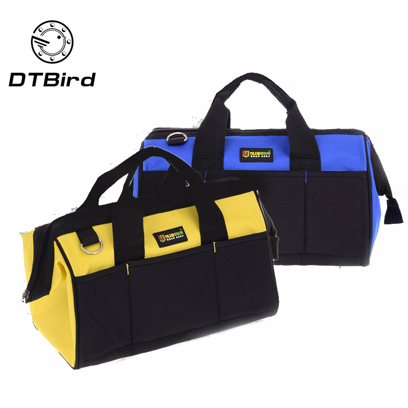 Multi-function Tool Bag Thickening Oxford Cloth One-shoulder Portable Toolkit Large Capacity Bag For Tools Hardware