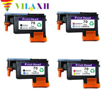 vilaxh 70 print head Replacement For HP 70 For DesignJet C9404A C9407A C9406A C9405A Z2100 Z3100 Z5200 Z3200 цена и фото