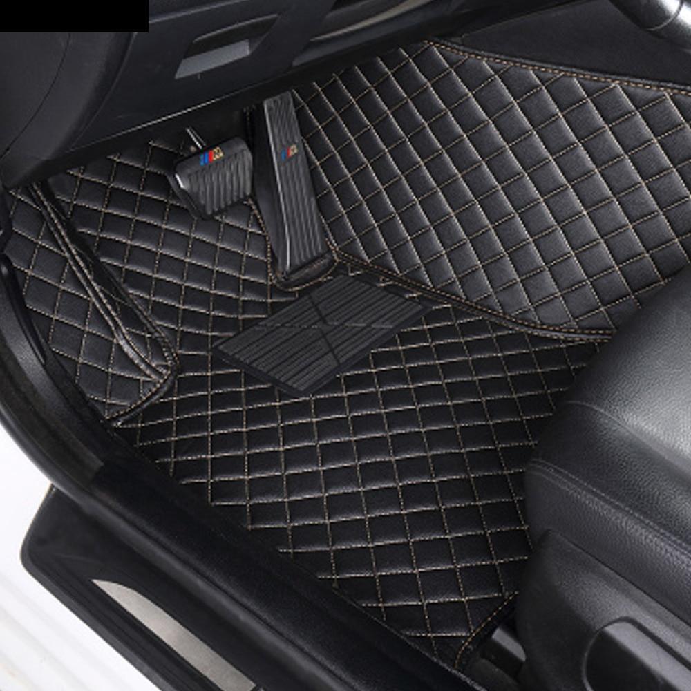 Tapis de sol de voiture pour Subaru Forester Legacy Outback XV 5D revêtement de sol pour tapis tout temps robuste