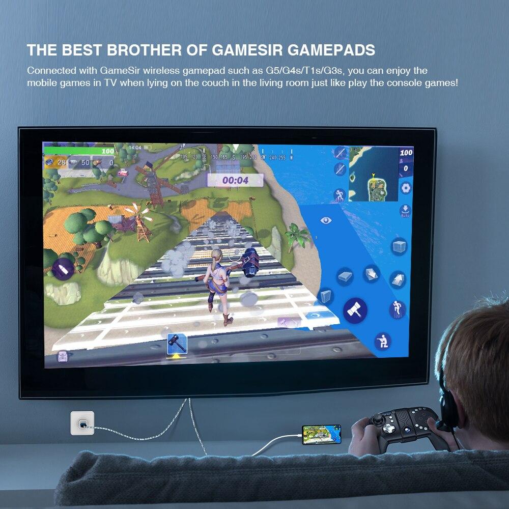 Kanepeye uzanıp büyük TV ekranınızda Cep telefonları oyunlarının keyfini çıkarmak istemez misiniz?