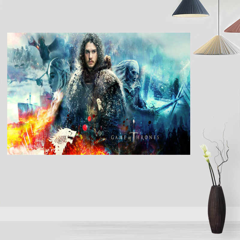 Плакат на стену игра престолов