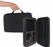 Large size Black Travel Protective Storage Carry Box Case Camera Bag for GoPro Hero 2 3 3+ Accessories Gopro Accessories