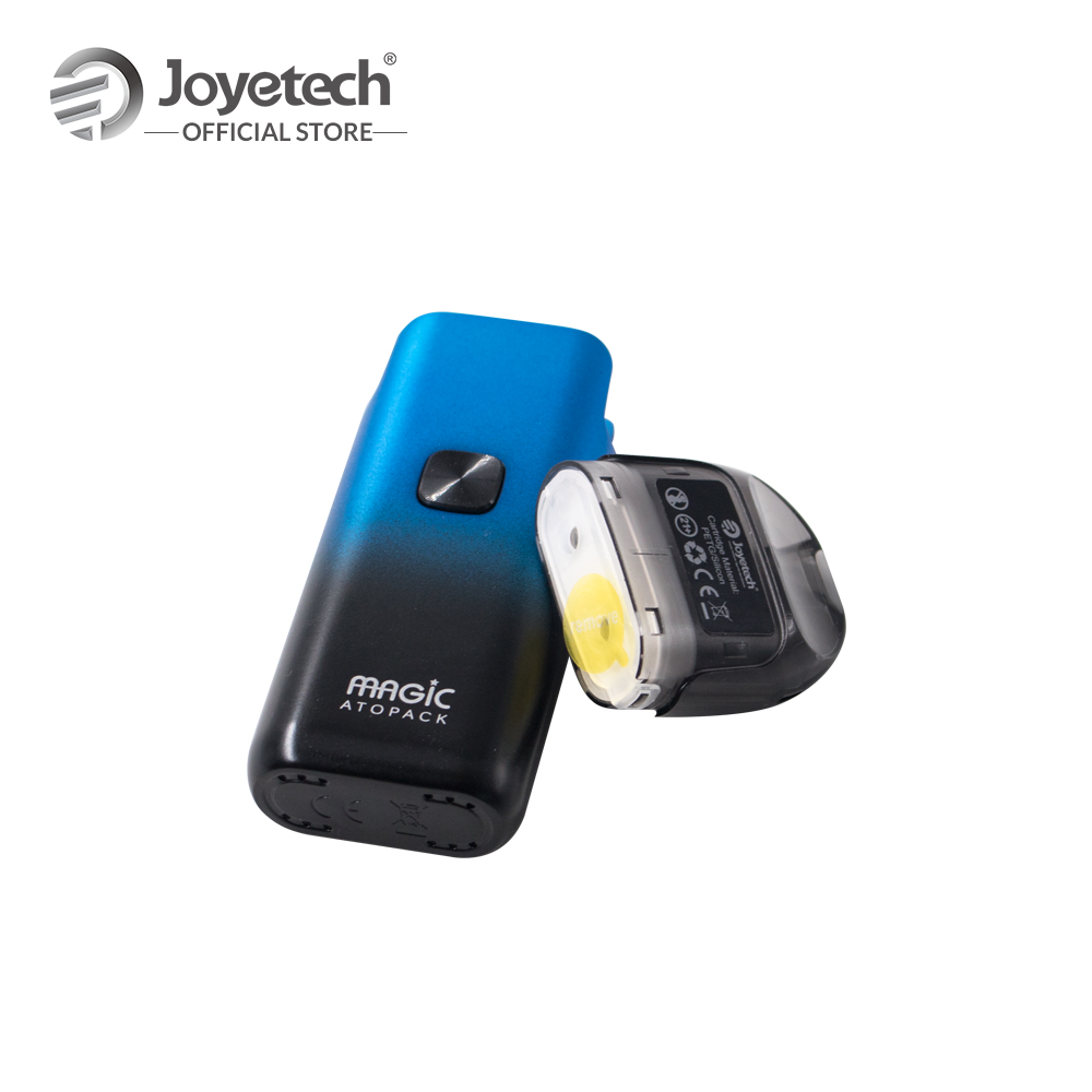 Original Joyetech ATOPACK Magic Pod System Kit in Coil-less 0.6ohm NCFilm Heater Built in 1300mAh Battery Electronic Cigarette
