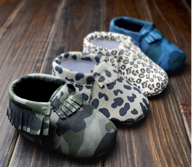2019 Tassels 28-Color PU Leather Baby Shoes Baby Moccasins Newborn Soft Infants Crib Shoes Sneakers First Walker for boys girls 2