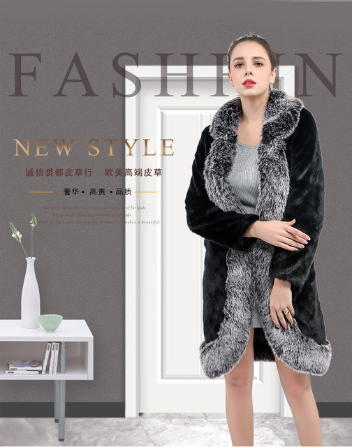 759cac8c4 Vintage fluffy faux fur coat women long furry fake fur winter outerwear  black coat 2018 autumn casual party overcoat