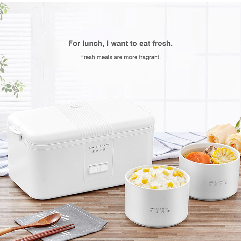 Mini Portable 220V Rice cooker Electric Ceramic Liner Sealed Fresh-keeping Heating Cooking Insulation Electric Lunch Box multi function electric lunch box stainless steel tank household pluggable electric heating insulation lunch box