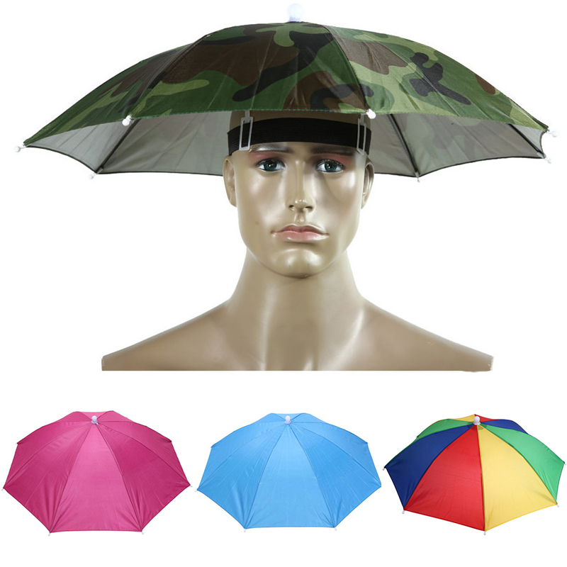 6a08af578861a Detail Feedback Questions about Head Umbrella Hat Fishing Cap Anti UV  Camouflage Sunshade Sea Beach Sun Protection Foldable Outdoor Camping  Hiking Sport ...