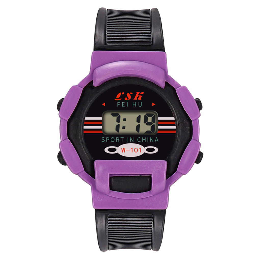 Digital watch Children Girls Analog Digital Sport watch LED Electronic Waterproof Wrist Watch New Simple High quality c0603