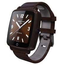 Uwatch u11c Bluetooth-Konnektivität sim uhr für iphone xiaomi mode Bluetooth Smart Uhr armbanduhr lederarmband SmartWatch