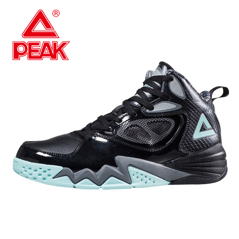 PEAK SPORT Men Basketball Shoes Breathable Athletic Training Sneaker FOOTHOLD Tech Rubber Outsole Ankle Boots Basket Homme peak sport professional men women basketball shoes cushion 3 revolve tech sneaker breathable athletic ankle boots size eur 40 48