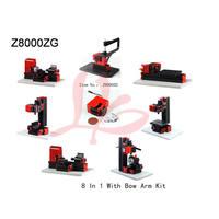 Многофункциональный бурения шлифовальная машина 8 в 1 с бантом руку комплект мини фрезерный станок Z8000ZG используются для семьи или школы diy