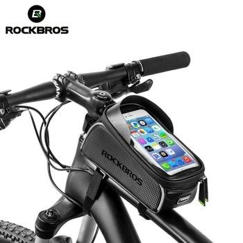 b48615139df ROCKBROS MTB Ciclismo Bicicleta Bolsa 6