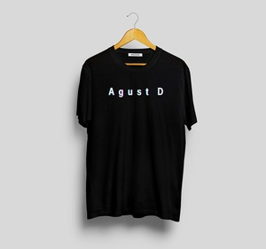 Agust D Suga T-Shirt Women Horean Style Kpop Merch T Shirt Jungkook Jhope Rap Monster Bangtan Boys K-Pop T Hirt Suga Tops