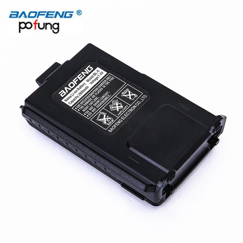 Baofeng BL-5 7.4 V 2800 mah Lithium Batterie Pour Radio Pièces D'origine Baofeng UV-5R UV-5RA UV-5RE BF-F8HP Talkie Walkie Accessoires