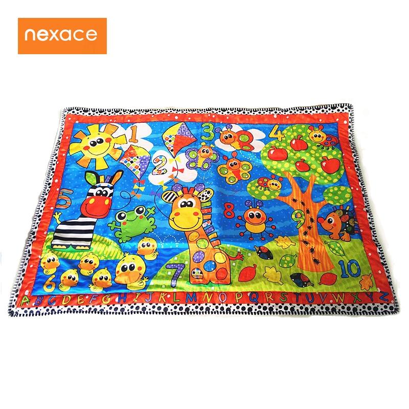 цена baby playmat children rug play blanket big size 150*105cm онлайн в 2017 году