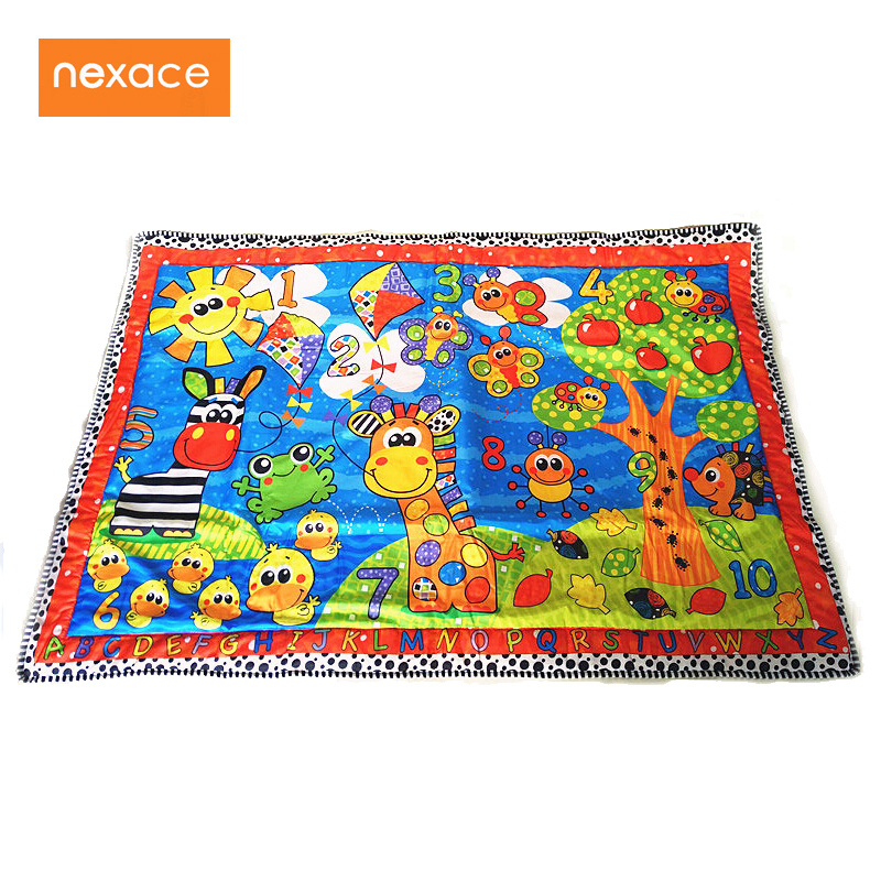 baby playmat children rug play blanket big size 150*105cm