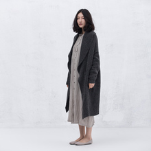 Xianran Women Cardigan Sweater Casual Loose Coat Knitted Flowers Irregular Long Sleeve Outwear High Quality Free Shipping