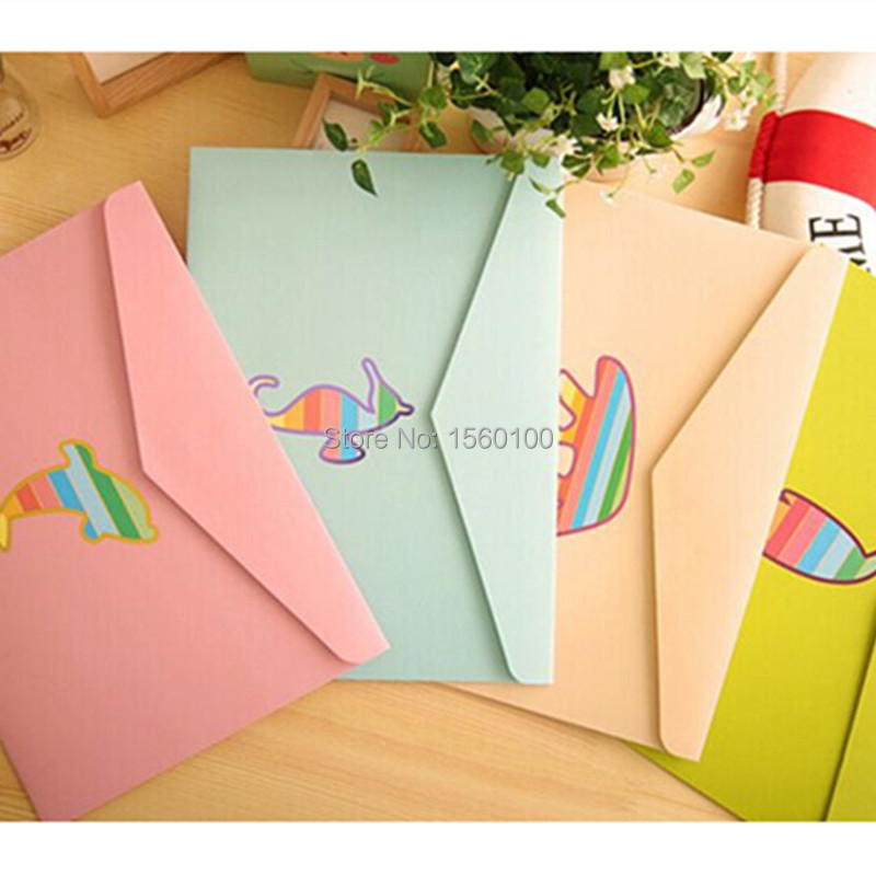 Free Shipping (6pcs/lot) Kawaii Stationery Brief Animal A4 File Bag/document Bag Office & School Supplies Filling Products