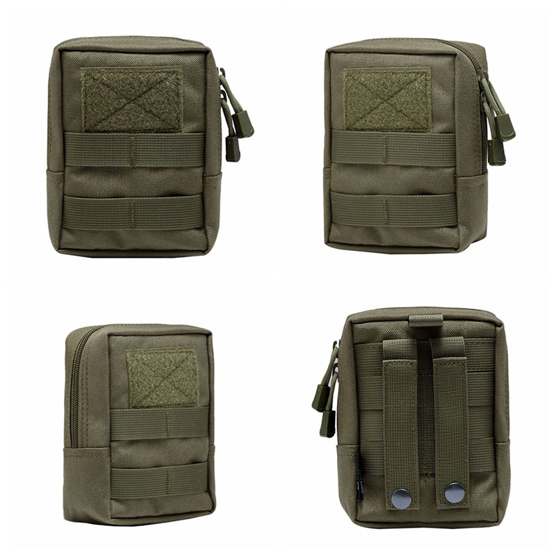 Image 5 - Outdoor EDC Bag Multi function Portable Military Tactical Pocket Durable Molle Tool Zipper Pockets Accessories-in Pouches from Sports & Entertainment