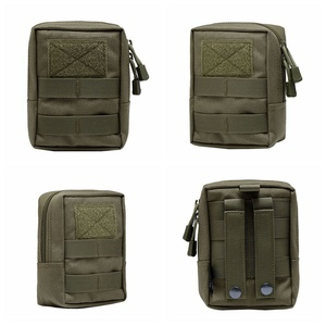 Image 5 - Sac extérieur EDC multi fonction poche tactique militaire Portable outil Durable Molle poches à glissière accessoires