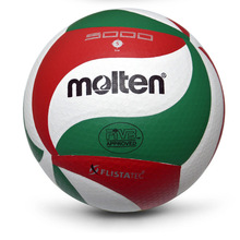 Volleyball-Ball VSM5000 with Net-Bag Needle Size5 Match-Quality Soft-Touch Soft-Touch