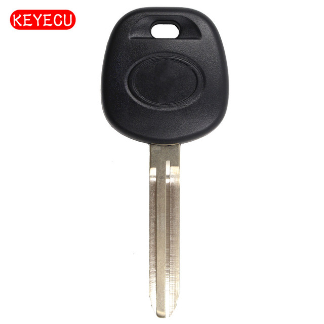 Keyecu Replacement Transponder Key Ignition With Chip Id4d67 Pg1 32 For Toyota Sienna Camry Avalon Uncut Blank Blade Toy43