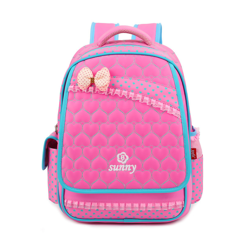3 Colors Waterproof Nylon Children School Bags for Girls Backpack Kids Bag Princess Style Randoseru Schoolbag Mochila Escolar