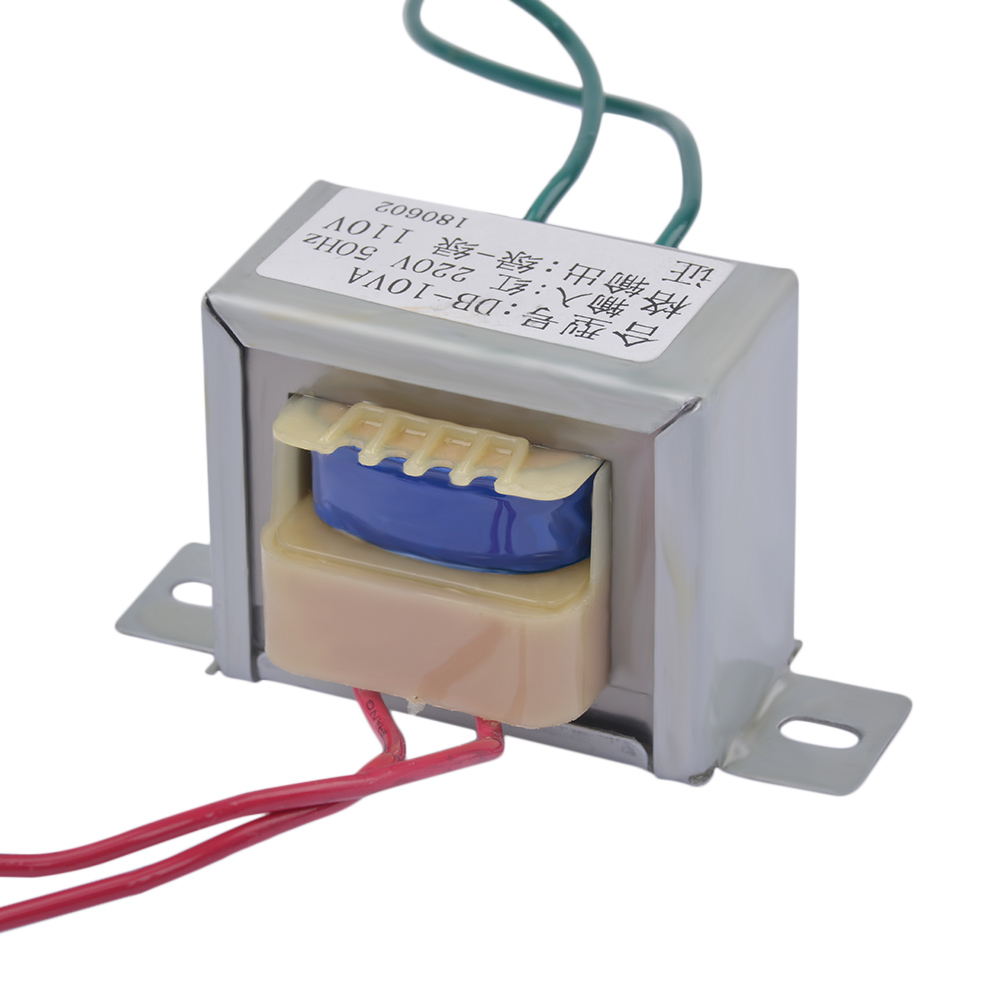 1Pc Transformer AC 220V To AC 110V 10W/VA Generator EI48*24 Independent Single Isolation Secondary Voltage Converter Toroidal1Pc Transformer AC 220V To AC 110V 10W/VA Generator EI48*24 Independent Single Isolation Secondary Voltage Converter Toroidal