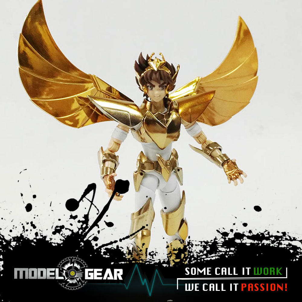 Great Toys Greattoys GT Saint Seiya Pegasus V3 Myth Cloth Ex Action Figure Golden Version in stock free shipping saint seiya gt great toys model cloth myth ex v3 saint seiya pegasus mito pano ex action metal cloth