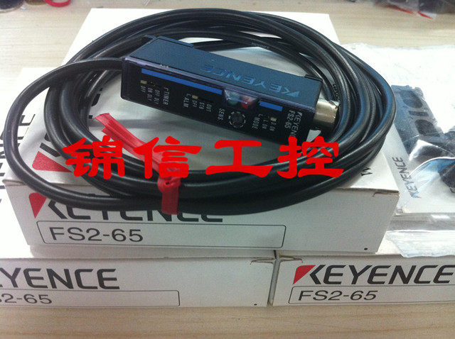 Original Authentic New KEYENCE Optical Fiber Amplifier FS2 65