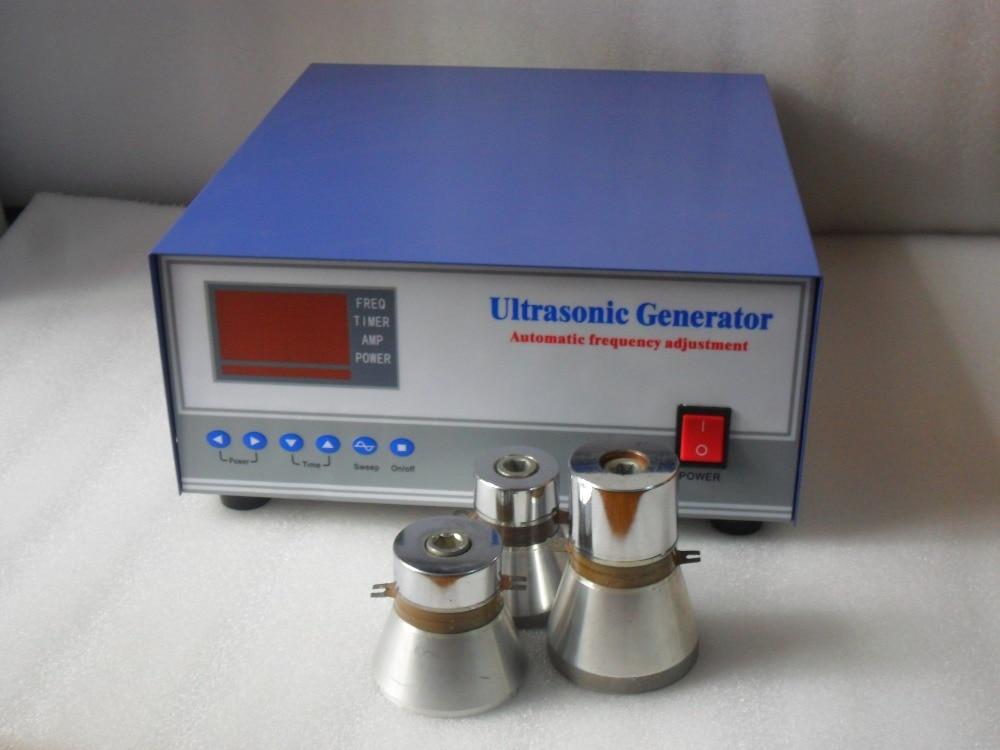 28khz/40khz 1200W dual frequency ultrasonic generator,28khz/40khz ultrasonic frequency generator